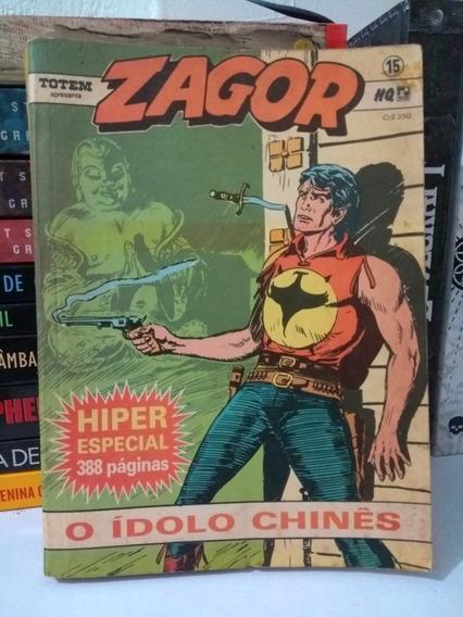 Zagor Nº15 O Ídolo Chinês (frete Grátis) Record