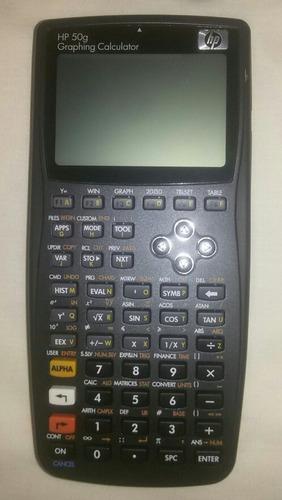 Calculadora Hp 50g. Nueva