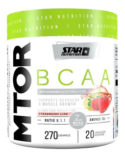 Bcaa Mtor 8.1.1 Star Nutrition Glutamina Electrolitos X 270g