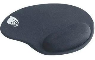 Mouse Pad Base Gel Color Negro Ergonómico Y Confortable
