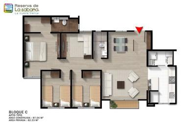 Apartamento En Zipaquira De 3 Alcobas, Sobre Planos