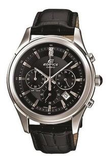 Reloj Casio Hombre Edifice Cuero Crono Efr517l-1a