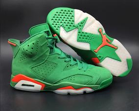 Tenis Nike Air Jordan 6 Retro Gatorade Green Original