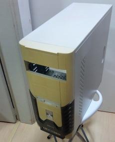 Gabinete Branco Para Pc Desktop - 4 Baias Vazio