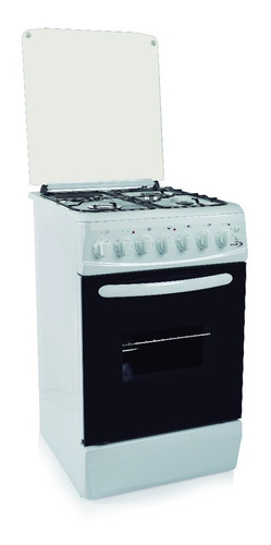Cocina Combinada Delne Horno Electrico+disco+3hornallas Gas
