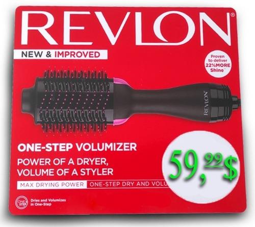 Cepillo Secador De Pelo Voluminizador Bongtai = Al Revlon