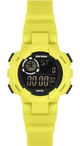 Relógio Infantil Masculino Mormaii Amarelo Digital Original