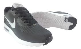 Zapatos Nike Airmax Negro Para Damas Y Caballeros