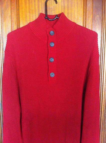 Suéter Masculino Banana Republic Vermelha Tamanho Xl Linda