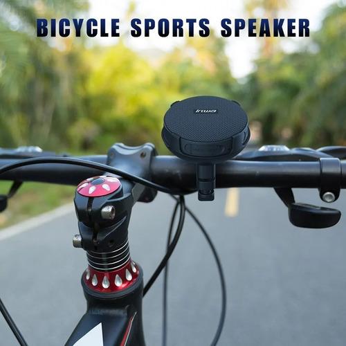 Imagen 1 de 6 de Parlante 5w Altavoz Bluetooth Con Holder Para Bicicleta