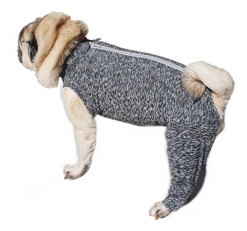 Imagem 1 de 8 de Roupa Pós Cirúrgica Pet Membros Posteriores - Nº05 Ao Nº08