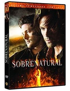 Supernatural Decima Temporada 10 Serie Dvd