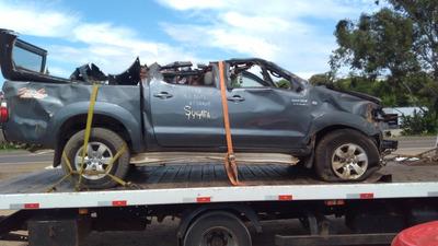 Sucata Toyota Hilux Srv 3.0 Somente Para Retirada De Peças