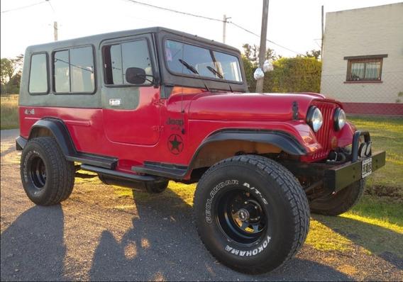 Jeep Potro 4x4 Motor 221 C/gnc