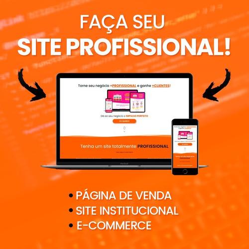 Seu Site Profissional - Tenha Mais Clientes