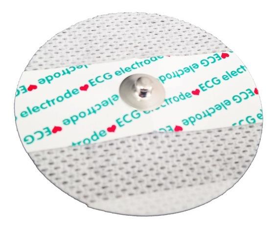 Electrodo Gel Pad Repuesto Tens Ems Emg Ecg Masaje Redondo