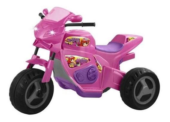Moto Elétrica Com Sons E Luzes Turbo 6v 3 A 7 Anos-magictoys
