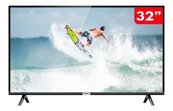 Smart Tv 32 Polegadas Led Hd Tcl 32s6500s Com Comando De Voz