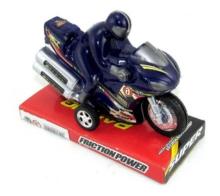 Moto Con Piloto A Fricción En Burbuja 142000 (2187)