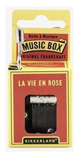 Caja Musical La Vie En Rose