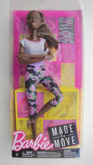 Barbie Made To Move Negra - Clb