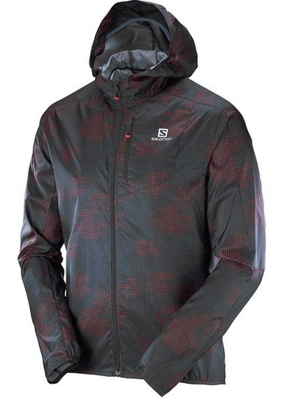 Campera Salomon Fast Wing Graphic 2017 - Hombre Packable