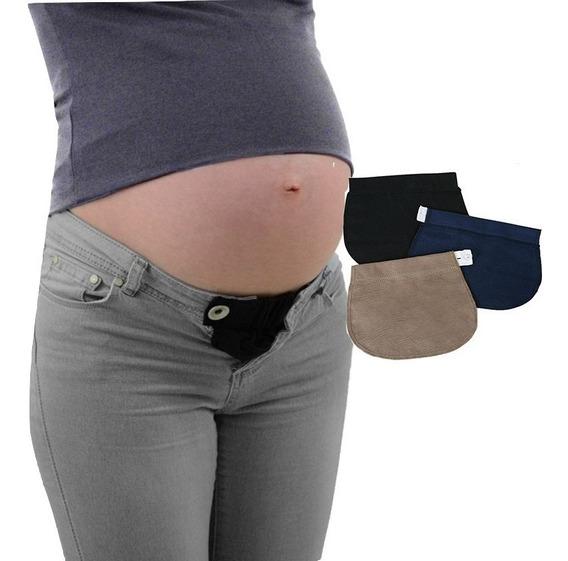 Set 3 Extensores De Pantalón Bandas Para Embarazo Maternidad