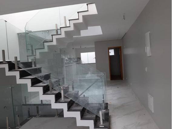 Sobrado Com 3 Dormitórios À Venda, 196 M² Por R$ 900.000 - Vila Alpina - Santo André/sp - So0703