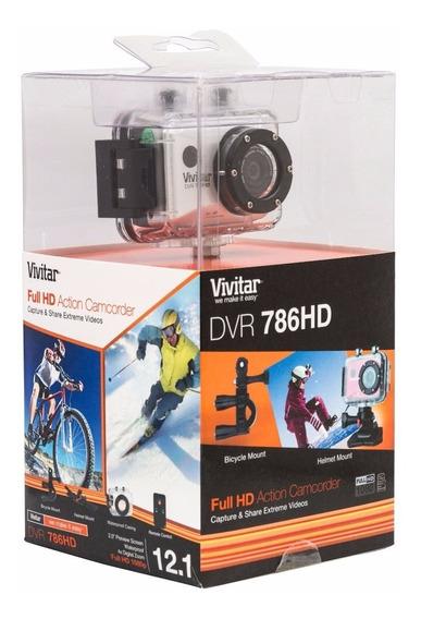 Câmera Filmadora De Ação Full Hd Vivitar Dvr786hd
