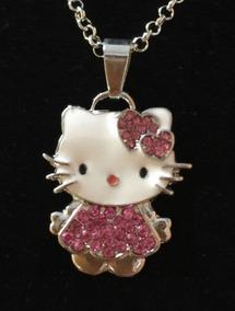 Colar Feminino Hello Kitty 52403