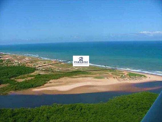 Valor: R$ 3.500.000,00 - Terreno Na Frente Mar Com 75000m2 - V22400