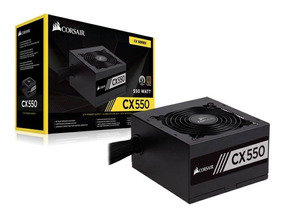 Fonte Corsair 550w Cx550 80 Plus Bronze Atx12v V.24 Pfc