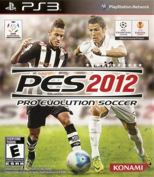 Jogo Ps3 Original Lacrado: Pes 2012 Pro Evolution Soccer