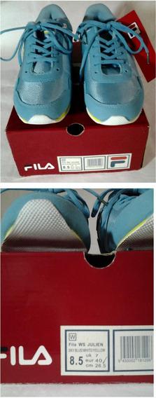 Zapato Deportivo Fila Original Mod Ws Julien #8.5 Nuevos