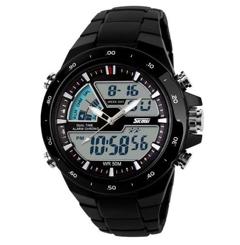 Relógio Masculino Skmei Preto Analógico/digital