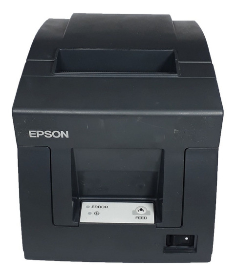Impressora Fiscal Térmica Tm-t81f- Retirada De Peças