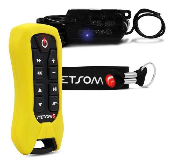 Controle Longa Distância Stetsom Sx2 Light Amarelo + Central
