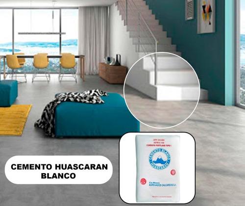 Cemento Huascaran - Blanco  - Saco De 50 Kg