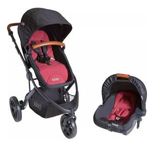 Cochecito 3 En 1 Para Bebe Kiddy C40 3 Ruedas Moises Huevito