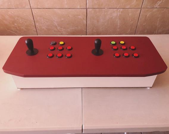 Fliperama Bancada Arcade Usb Para Ps3 Pc Mac Raspberry