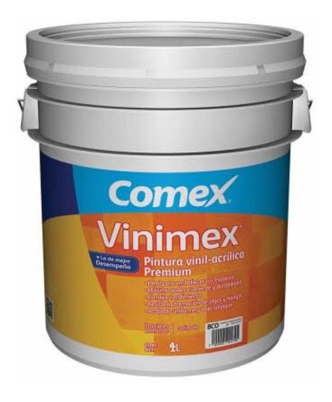 Oferta De Cubeta De Pintura Comex Vinimex Premium 19 Lts