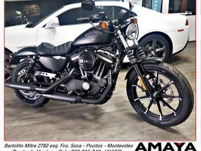 Amaya Garage Harley Davidson Iron 883 0km. Negro Mate