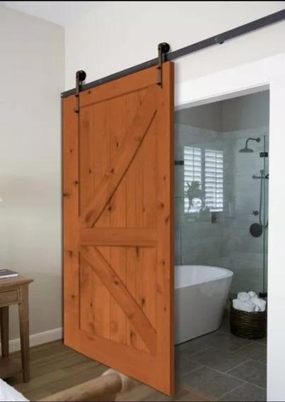 Increíble Puerta Corrediza Diseño Barn Door - Establo - Gran
