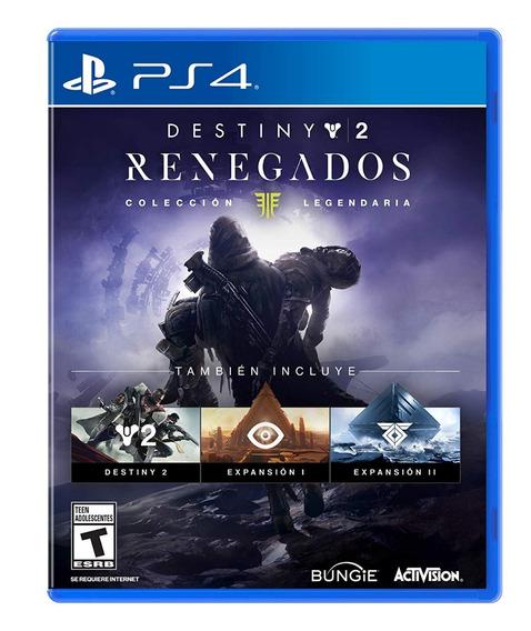 Destiny 2 Renegados Coleccion Legendaria Ps4 Sellado Español