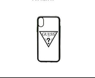 Funda iPhone 6 7 8 Plus X Xs Max Xr 11 Guess Logo Vip Moda