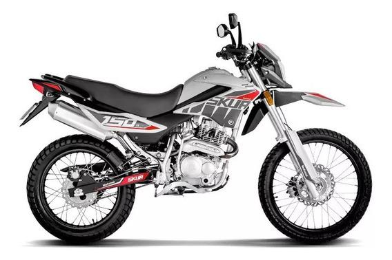 Motomel Skua 150 18ctas$5.919 Silver Motoroma