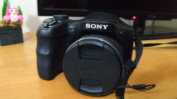 Câmera Semi Profissional Sony Dsc H100