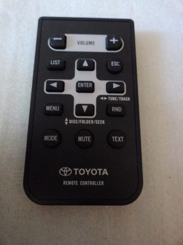 Imagen 1 de 1 de Control Remoto Toyota Cxe5721 Impecable
