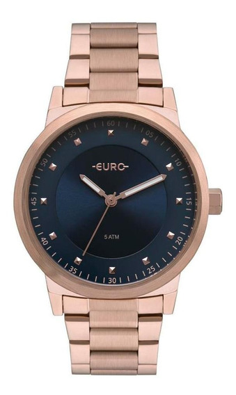 Relógio Feminino Euro Analógico Bicolor Trendy Eu2036ynu/4a