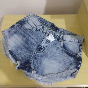 Short Jeans Cintura Alta Forever21